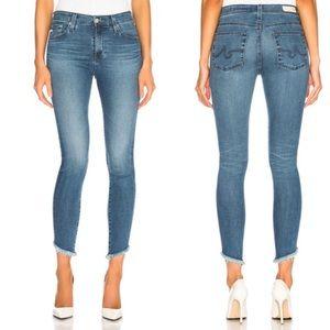 AG Farrah hi-rise skinny ankle jeans